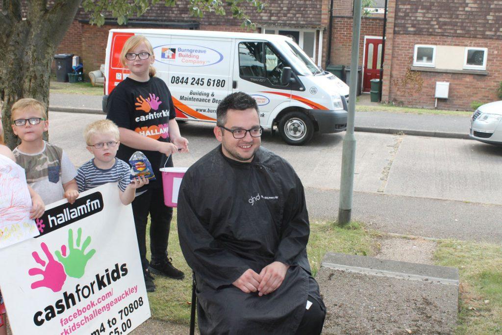 Burngreave Sponsor Cash for Kids
