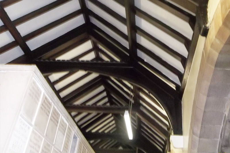 Church Roofing Project in Sheffield
