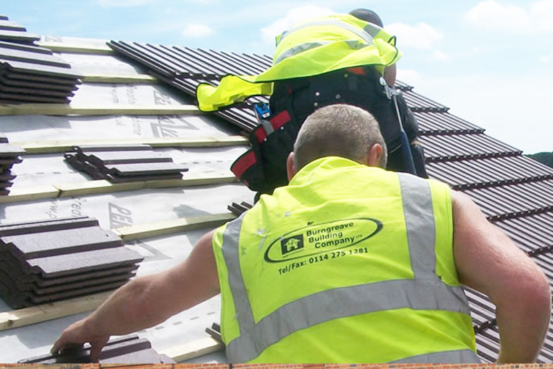 Burngreave Roofers at Work