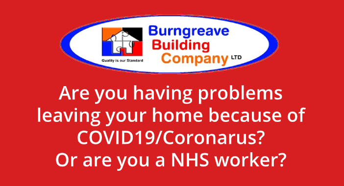 Coronavirus help from Burngreave Building Company